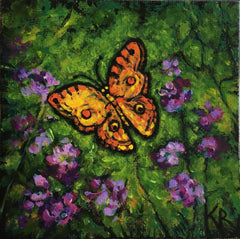 butterfly painting,