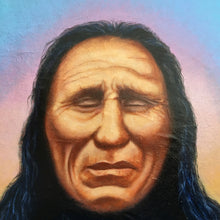 Load image into Gallery viewer, Original Painting American Indian Chief Portrait