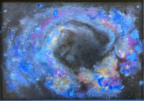 Outer Space Framed Painting