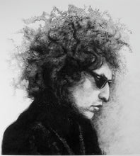Load image into Gallery viewer, Bob Dylan Folk Classic Rock Poet Portrait