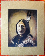 Load image into Gallery viewer, Indian Chief Art Print of original
