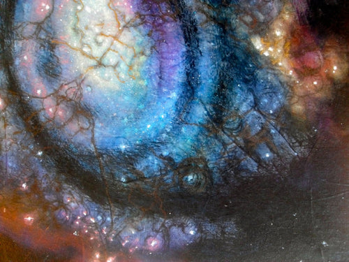 Nebula Galaxy Outer Space Original Painting
