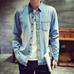 Massey Light Blue Denim Shirt