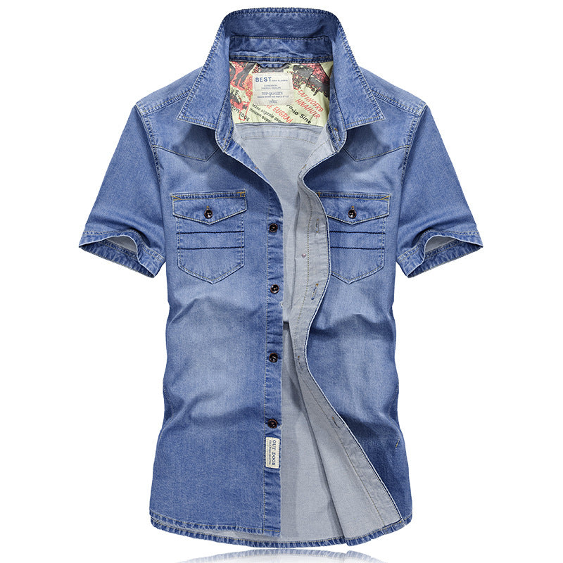 Bailey Denim Button-Down Shirt