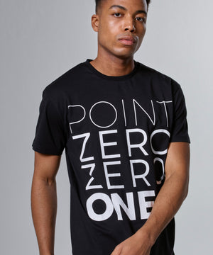 MENS LOGO TEE - ENGLISH BLACK