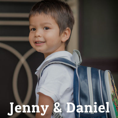 Our Children- Jenny And Daniel