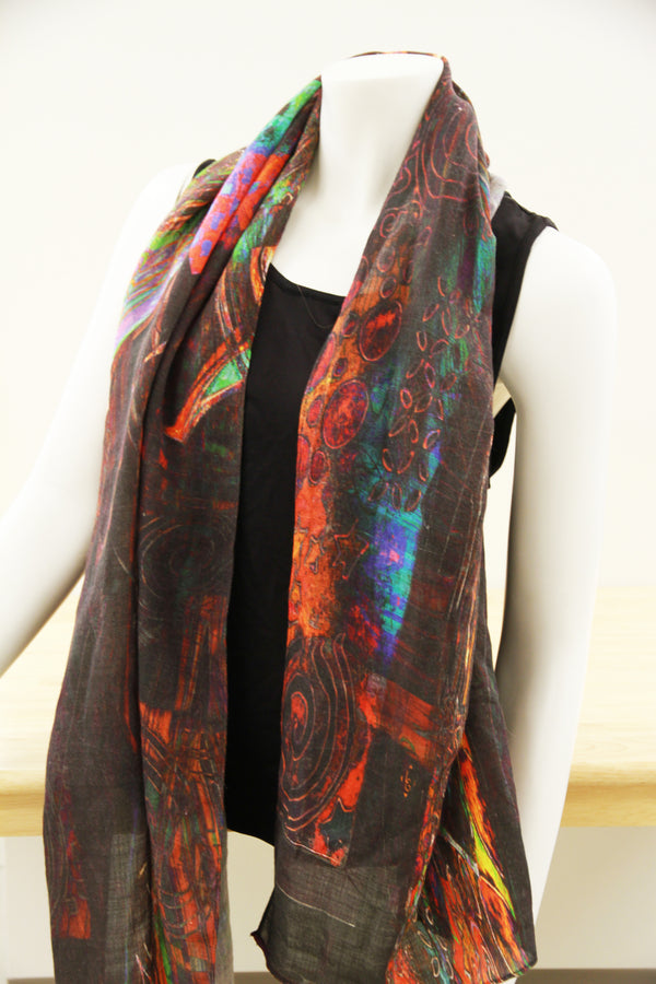 Susan's Traditional Silk Scarf
