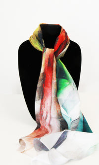 Mixed Color Traditional Scarf