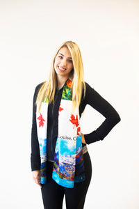 Canada Lake Louise Traditional Scarf