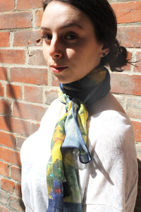 Floral- Traditional Silk Scarf