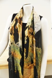 Spirited Horses- Traditional Silk Scarf