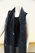 Midnight Rider Traditional Scarf