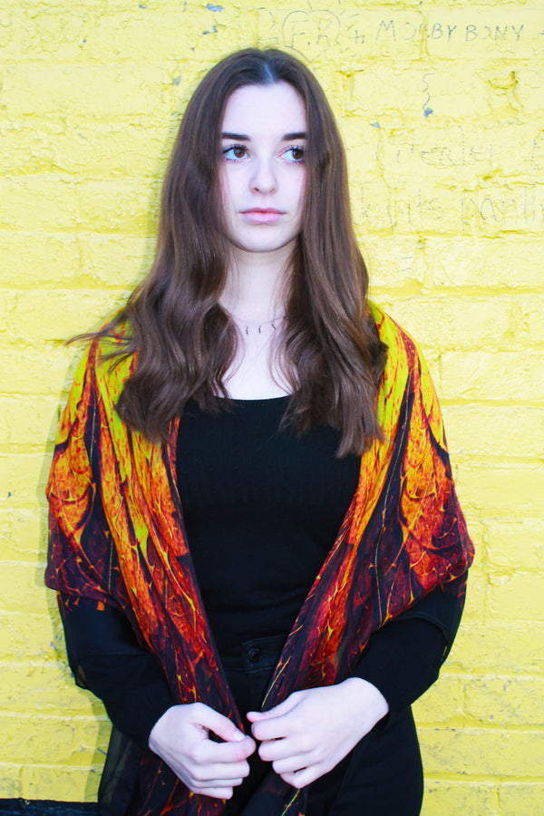 Sunburst- Silk Mega Wrap