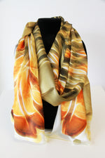 Eagle- Traditional Silk Scarf