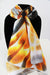 Yellow Heart Traditional Large Scarf