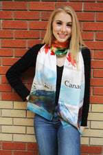 Canada Lake Louise- Traditional Silk Scarf