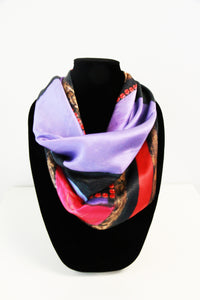 Cynthia's Heart- Small Silk Scarf