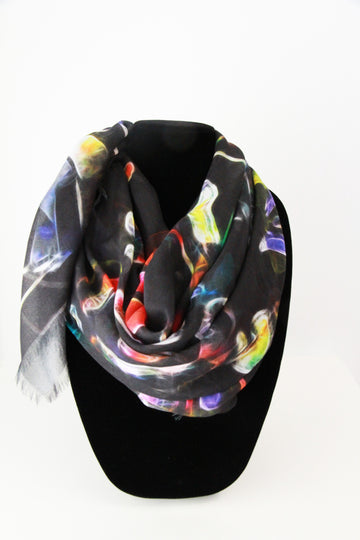 Petals  Small Square Scarf