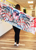 White House Traditional Large Scarf