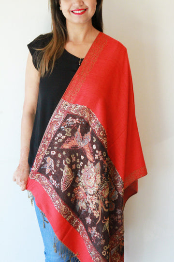 Pashmina Red Metallic