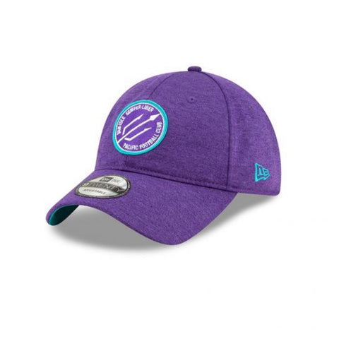 New Era 9twenty Adjustable Purple Hat
