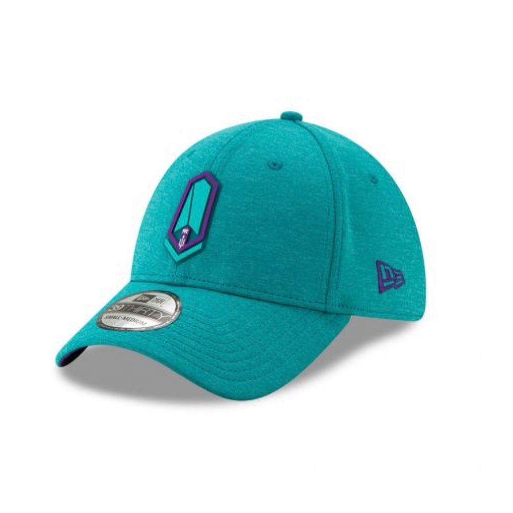 New Era 39thirty Stretch Lagoon Blue Hat