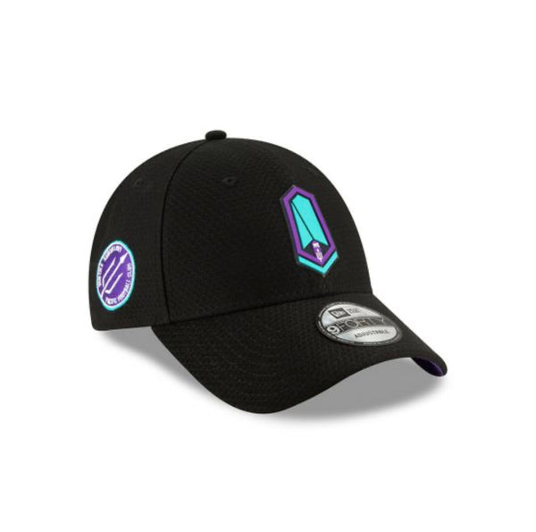New Era 9forty Black Adjustable Primary Hat