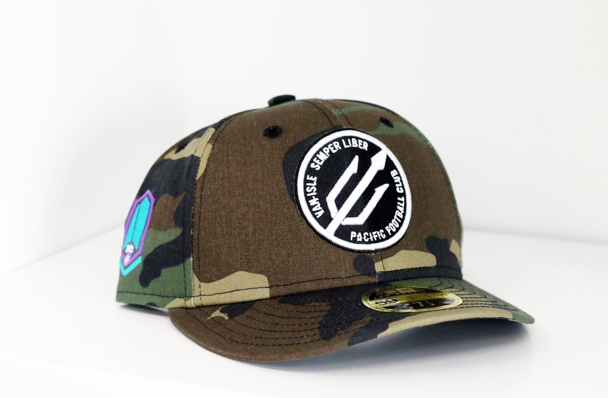 New Era 59fifty Low Fitted Camo Hat