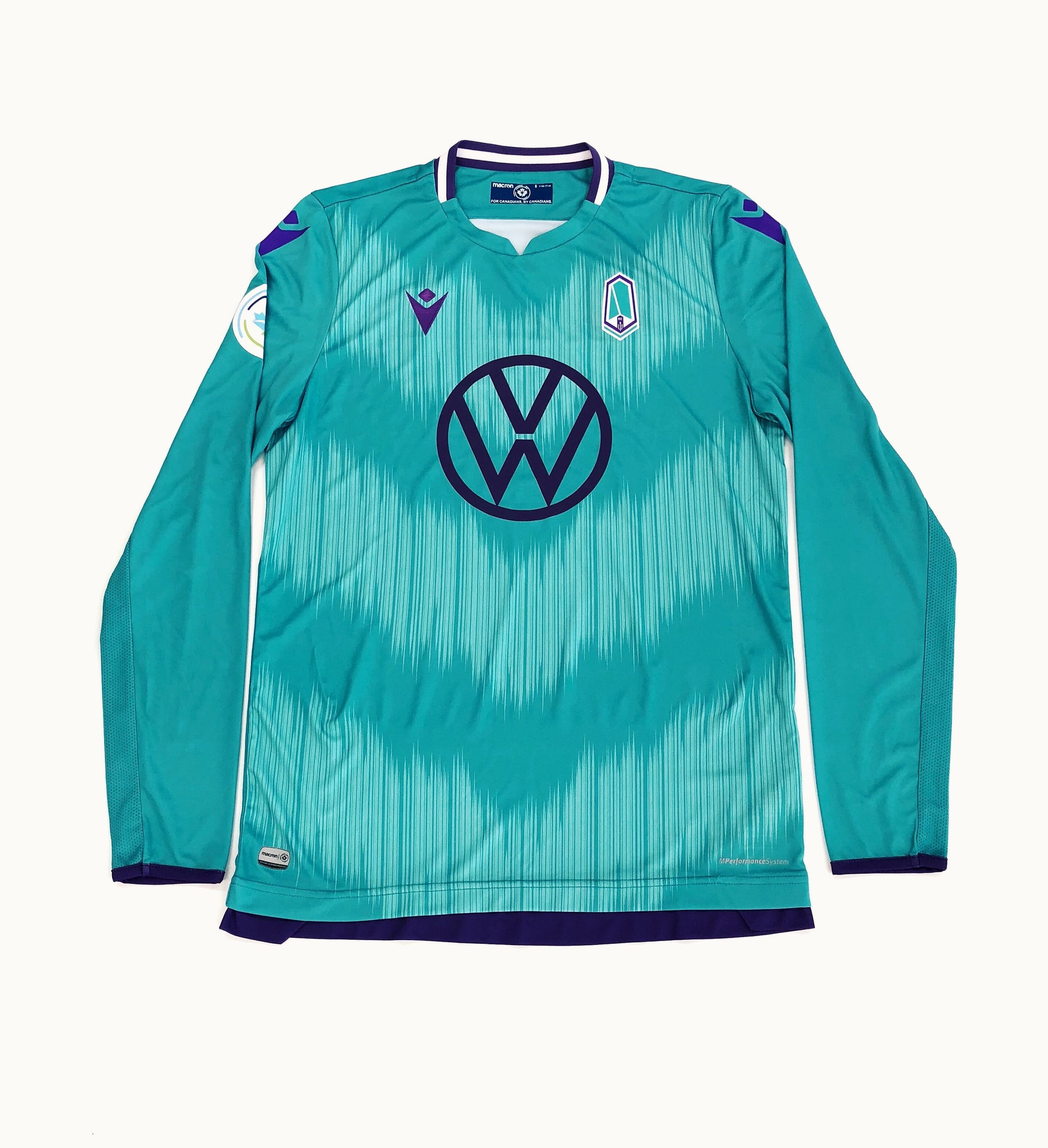 Pacific FC Men's Authentic Long Sleeve Away Jersey