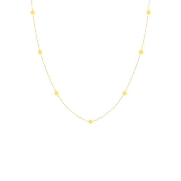 14K Solid Gold Meaningful Gold By The Yard Love Necklace