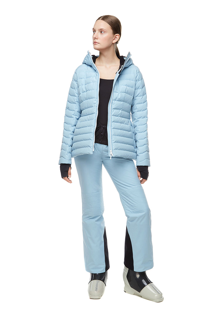 IENKI IENKI Powder Blue Skiing Basq Pants for women