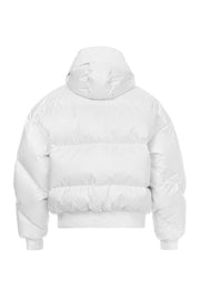 Ienki Ienki White Dunlope Puffer Jacket for Women