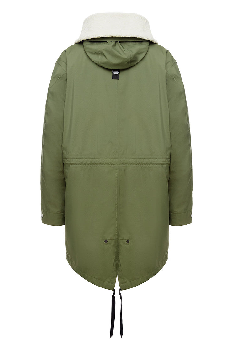 Мужская парка Parka/Cell Pad Olive/Cypress Red