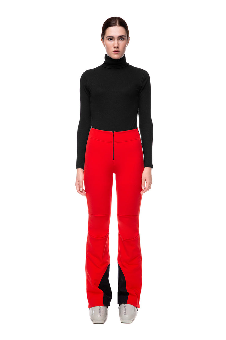 Skiing Pants IENKI IENKI Pure Red for women