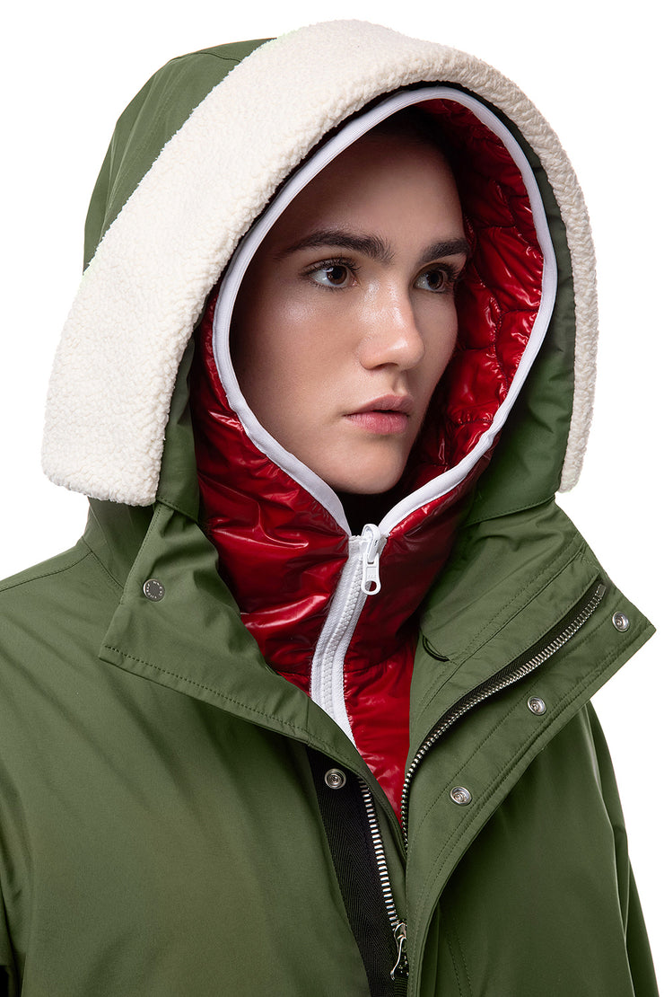 IENKI IENKI Green Skiing Jacket for women