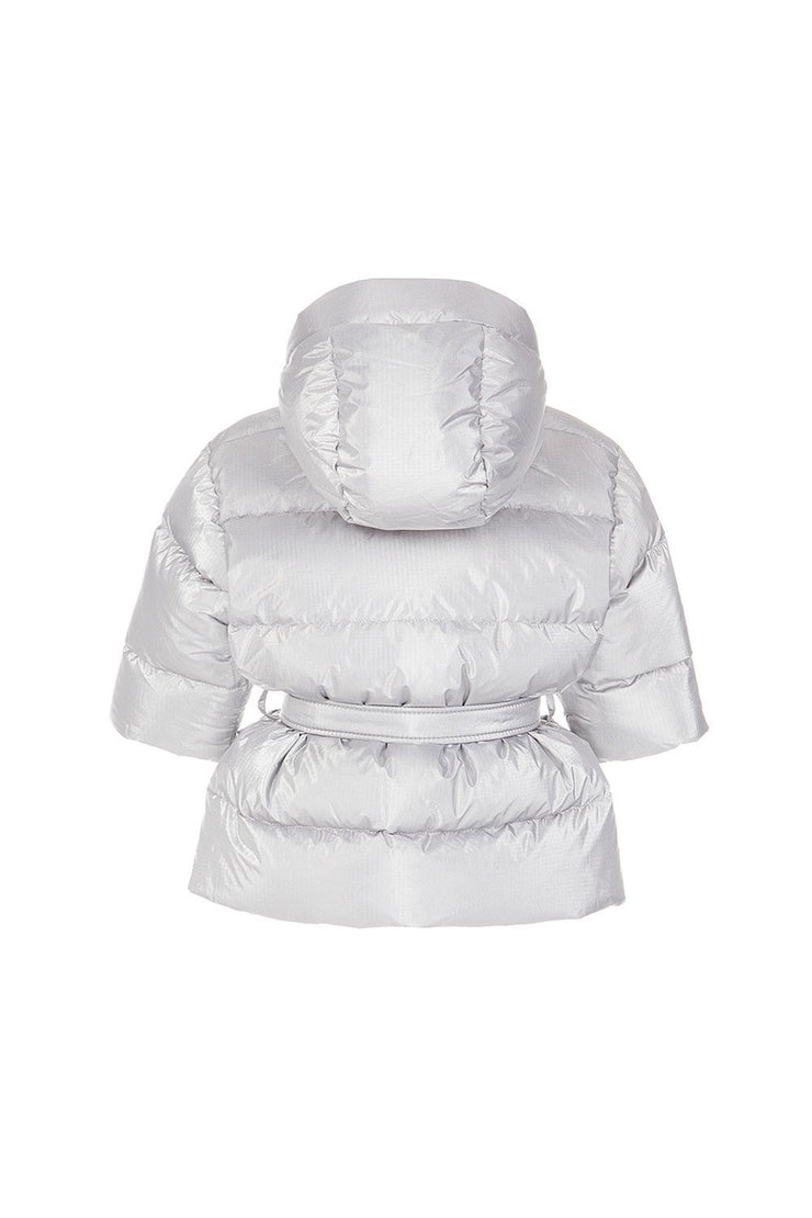 Ienki Kid's Michlin Puffer Electric Silver