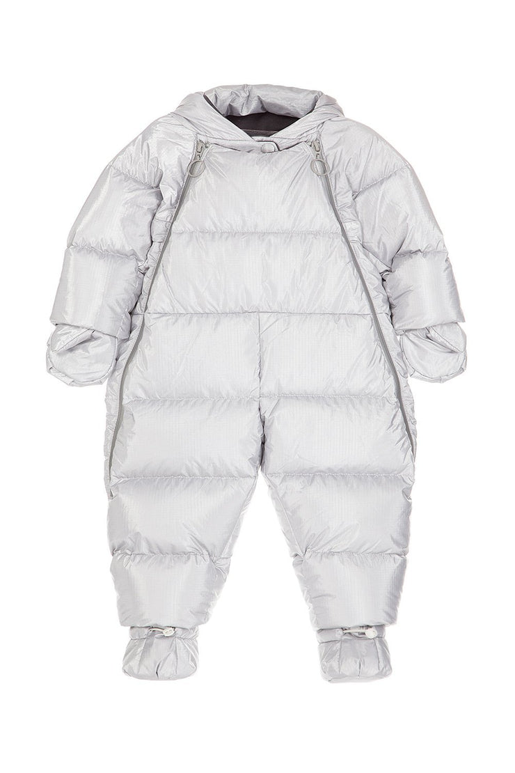 Ienki Ienki Kid's Overall Electric Silver