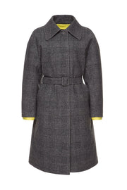 Пальто Mac Coat Woolmark Grey Check