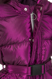 Yenki kids belted Puffer electric schiaparelli