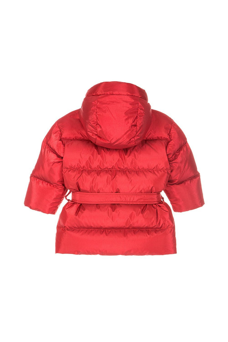 Ienki Kid's Michlin Puffer Electric Red