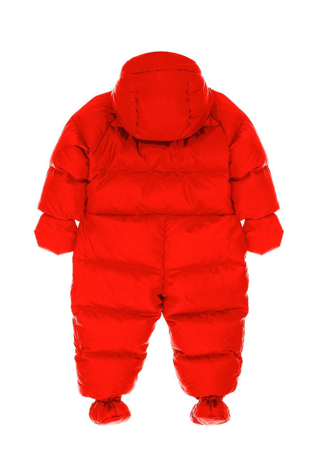 Ienki Kid's Puffer Overall Fiery Red