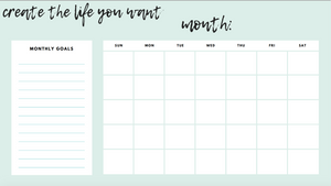 Everything You Need Planner