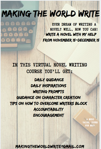 Write a Novel in One Month!