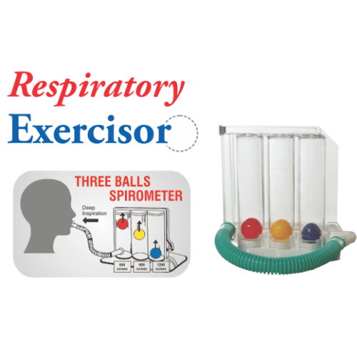 Three Balls Spirometer - SM Health Care