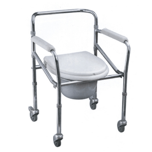 Commode with Castor - SM Health Care