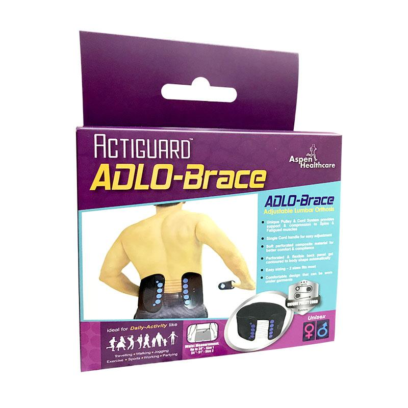 Actiguard Adlo Brace Adjustable Lumbar Orthosis