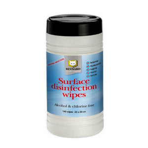 Reynard Surface Disinfection Wipes (3 Canister)
