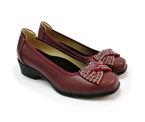 STEPCARE - Health Footwear: SC2004-5 Women (Maroon)
