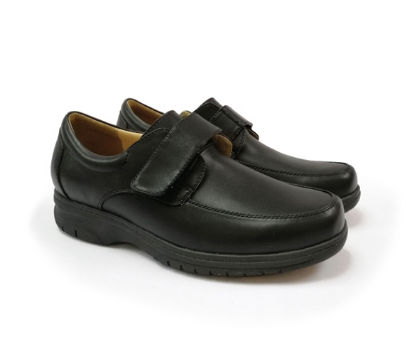 STEPCARE - Health Footwear: SC6092 Men Dress Shoes (Black)