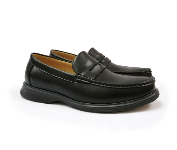 STEPCARE - Health Footwear: SC6094 Men Dress Shoes (Black)